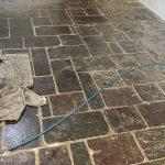 Tile Grinding and Polishing Before