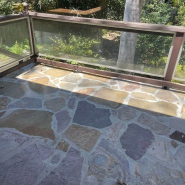 Outdoor tiles - regrouting, cleaning and sealing in Eltham
