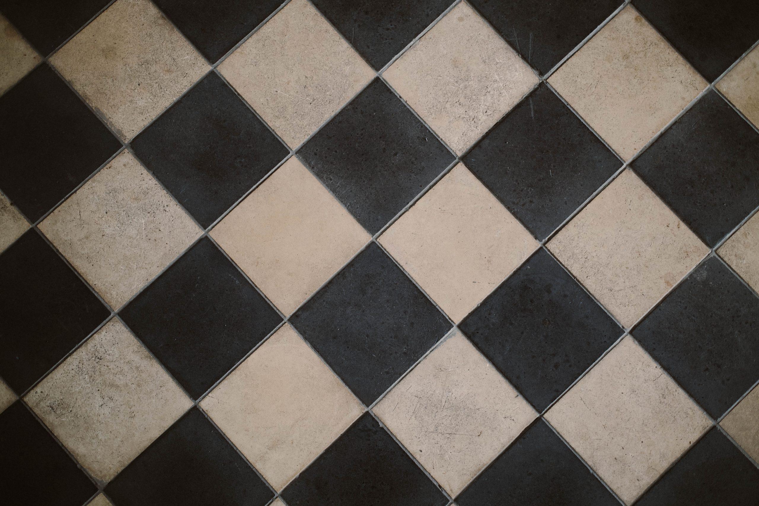 Damaged Floor Tiles