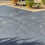Before Concrete Driveway Restoration Tile Solution