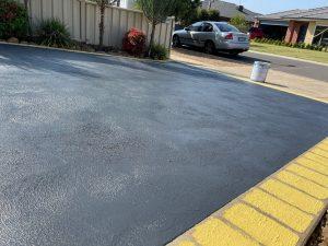 Concrete Driveway Restoration After