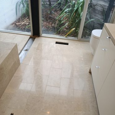 travertine tile restoration